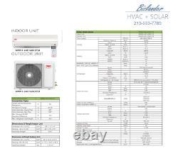 YMGI 24000 BTU 2 Ton Ductless Mini Split Air Conditioner Heat pump MOP