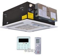 YMGI 30000 BTU 21 SEER Dual Zone Ductless Mini Split Air Conditioner Cool Heat
