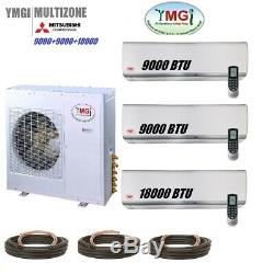 YMGI 36000 BTU 3 Ton Ductless Mini Split Air Conditioner Cooling Heating System