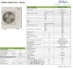 YMGI 60000 BTU 5 Ton Ductless Mini Split Air Conditioner with Heat Pump Indoor