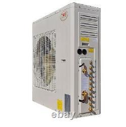 YMGI 60000 BTU 5 five ZONE DUCTLESS SPLIT AIR CONDITIONER WITH HEAT PUMP EC EW