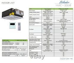 Ymgi 60000 Btu 5 Quint Zone Ductless Split Air Conditioner Heat Pump 21 Seer 6k