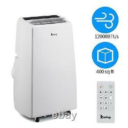 Zokop 12000BTU Control Portable Air Conditioner Dehumidifier Fan Indoor withRemote