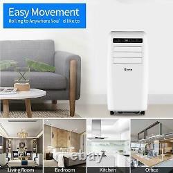 Zokop 12,000BTU Air Conditioner Portable Dehumidifier Fan AC Unit Remote Control