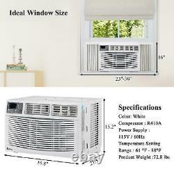 Zokop 12,000 BTU Window Air Conditioner Cooling Dehumidifier Fan Remote Control