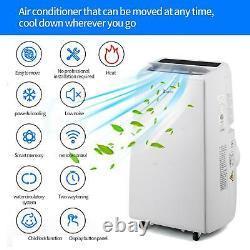 Zokop 13000BTU Air Conditioner 4-in-1 Portable Dehumidifier Fan Heat AC Unit