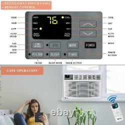 Zokop 3 Speed 12,000 BTU Window Air Conditioner with 550 Sq. Ft. Coverage AC Unit
