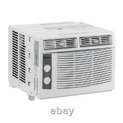 Zokop 5000 BTU 3 Speed Window Air Conditioner Compact 150 Sq. Ft Mount AC Unit