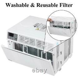 Zokop 8,000 BTU Window Air Conditioner Cooling Dehumidifier Fan Remote Control