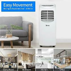 Zokop Portable 8000 BTU AC Air Conditioner Dehumidifier Fan A/C Unit with Remote