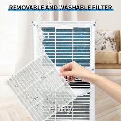 10000 Btu Climatiseur Portatif Refroidisseur D'air 3 Mode Ventilateur De Refroidissement Minuterie Ac Télécommande