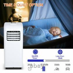 10000 Btu Portable Air Conditioner & Dehumidifier Function Remote With Window Kit