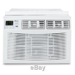 10000 Btu Télécommande Climatiseur 450 Pieds Carrés 115v Filtre Lavable Blanc