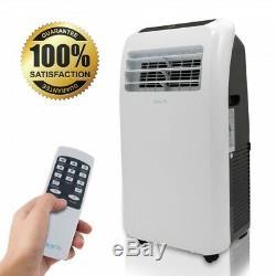 10 000 Btu Climatiseur Portable Cool & Heat, Dehumidifier A / C + Ventilateur À Distance