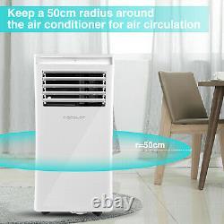 10,000 Btu Climatiseur Portable Ventilateur De Déshumidification De Refroidissement Avec Mode Remote 3