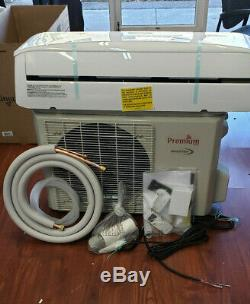 12000 Btu Climatiseur Mini Split 19 Seer Inverter Ac Ductless Pompe À Chaleur 220 V