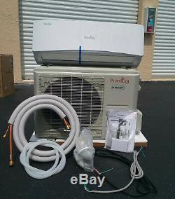 12000 Btu Climatiseur Mini Split, Soit 17 Seer Inverter Ac Ductless Seulement Froid 110v