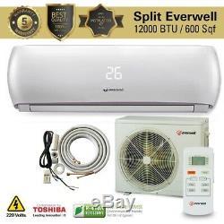 12000 Btu Climatiseur Mini Split Système Ac Ductless Froide 220 V / 60 Hz