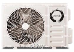 12000 Btu Ductless Climatiseur, Pompe À Chaleur Mini Split 110v Avec Le Kit 1 Tonne