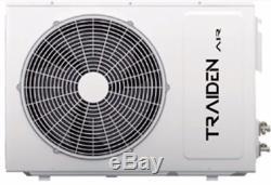 12000 Btu Ductless Climatiseur, Pompe À Chaleur Mini Split 220 V 1 Tonne Avec Le Kit