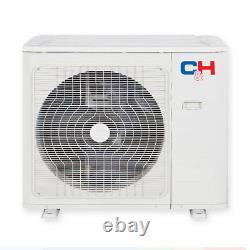 12000 Btu Ductless Mini Split Air Conditioner Pompe À Chaleur 21,5 Seer 115v + Kit