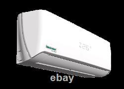 12000 Btu Mini Climatiseur Split Thermopompe Sans Conduit 230v Innovair 17 Trois