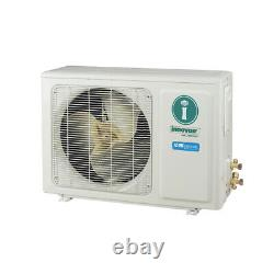 12000 Btu Mini Climatiseur Split Thermopompe Sans Conduit 230v Innovair 30,5 Trois