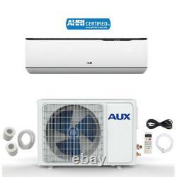 12000 Btu Mini Split Air Conditioner Inverter Pompe À Chaleur Sans Wifi 115v 25ft
