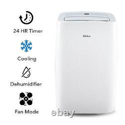 12000 Btu Portable Air Conditioner Cool 550 Sq. Ft Déshumidificateur 86 Pint/day Vent