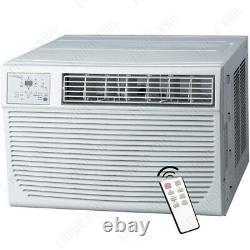 12000 Btu Window Air Conditioner Avec 11000 Btu Heater, 550 Sq. Ft. Home Ac Unit