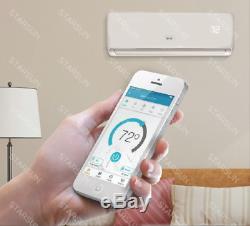 12 000 Btu Ac Climatiseur, Pompe À Chaleur Mini Split 220 V 1 Tonne Withkit & Wifi