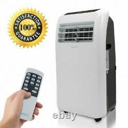 12 000 Btu Climatiseur Portable Cool & Heat, Déshumidificateur A/c Ventilateur + Télécommande