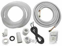 12 000 Btu Ductless Mini Climatiseur Split Pompe À Chaleur 115v 1 Ton Aircon Ac