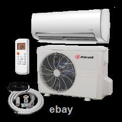 18000 Btu Climatiseur Mini Split 20 Seer Inverter Ac Sans Conduit Seulement Cool 220v