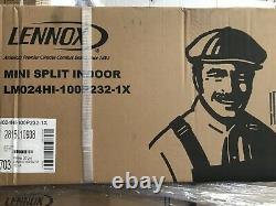 24000 Btu Climatiseur Mini Split 10 Seer R22 Ac Thermopompe Sans Conduit 220v