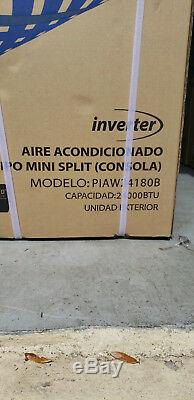 24000 Btu Climatiseur Mini Split, Soit 17 Seer Inverter Ac Ductless Pompe À Chaleur 220 V