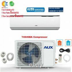 24000 Btu Ductless Air Conditioner Inverter Pompe À Chaleur Mini Split 2ton 230v