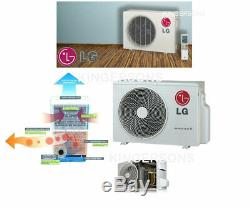 24000 Btu Lg Mini Ductless De Split Climatiseur Seer 21 Cool / Heat Construit En Wifi