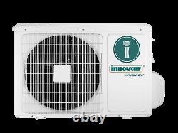 24000 Btu Mini Climatiseur Split Thermopompe Sans Conduit 230v Innovair 17 Trois