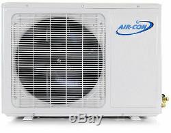 24 000 Btu 21 Seer Ductless Mini Climatiseur Split Pompe À Chaleur Aircon 2 Tonnes