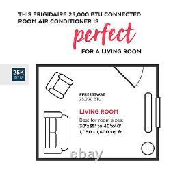 25000 Btu Frigidaire Climatiseur De Fenêtre, 1600 Sq Ft Chambre Energy Star Ac Unit