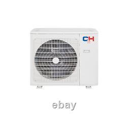 2 Zone Ductless Mini Split Air Conditioner A/c 12000 18000 Avec Télécommandes+kits