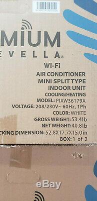 36000 Btu Climatiseur Mini Split, Soit 17 Seer Inverter Ac Ductless Pompe À Chaleur 220 V