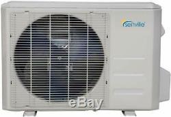36000 Btu Dual Zone Ductless Mini Split Climatiseur Et Pompe À Chaleur 22 Seer