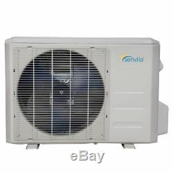 36000 Btu Tri Zone Ductless Mini Climatiseur Split (2x9000btu + 1x18000btu)
