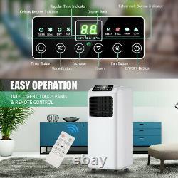 3-en-1 Climatiseur Portable Et Télécommande De Fonction De Déshumidificateur Avec Le Kit De Fenêtre