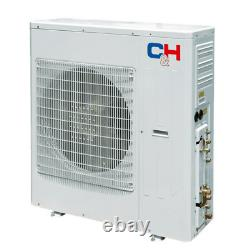42000 Btu Penta Zone Ductless Mini Split Air Conditioner Pompe À Chaleur 12k(x5) & Kit