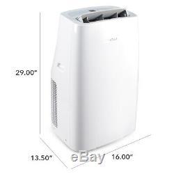 550 Sq. Ft 12k Btu Climatiseur Portable / Ventilateur / Dehumidifier 86 Pint Withwindow Kit