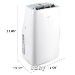 700 Sq. Ft 14000btu Portable Climatiseur + 1050w Heater 111 Pint Dehumidifier