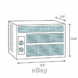 8000 Btu Frigidaire Climatiseur De Fenêtre, 350 Chambre Sqft Accueil Unité Ac Avec Télécommande